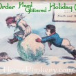 Pre-Order Hand-Glittered Holiday Greeting Cards